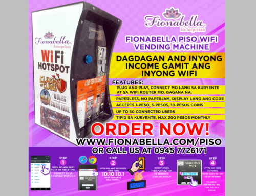 Fionabella Starts Deployment of Piso Wifi Vending Machines in Manila